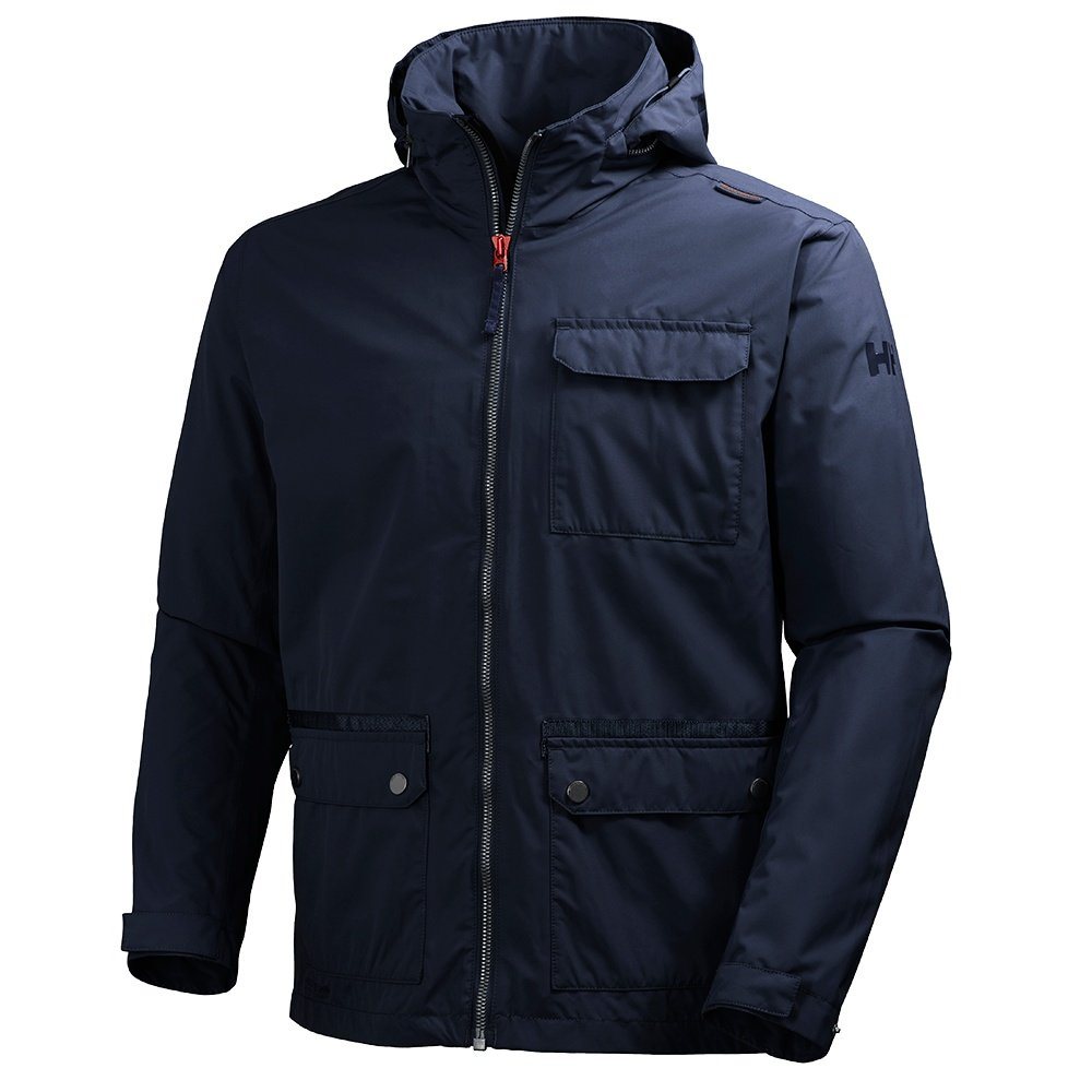 Helly hansen highlands rain jacket men 39 s ebay for Mens fishing rain gear