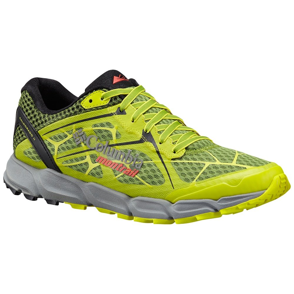 Montrail by Columbia Caldorado II Trail Shoe (Men's) - New Leaf Green/Zour