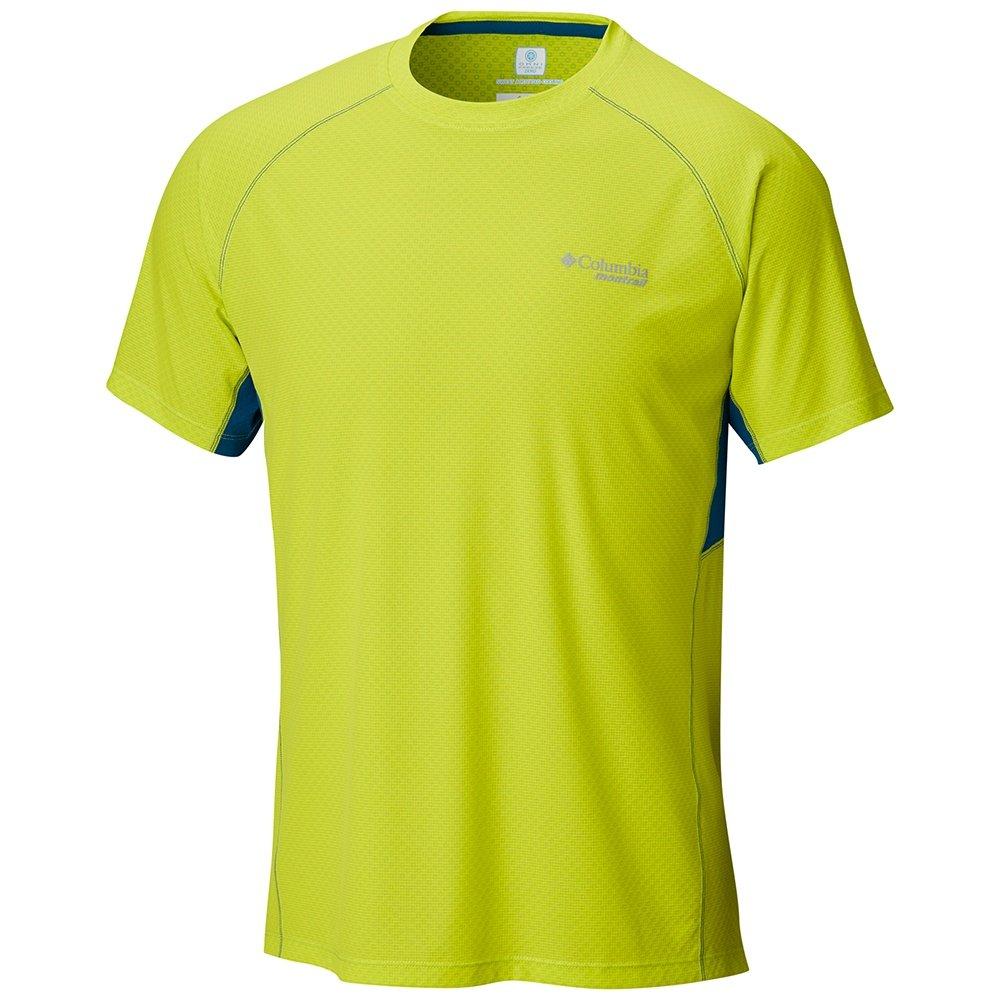 Montrail by Columbia Titan Ultra Short Sleeve Running Shirt (Men's) - Zour/Phoenix Blue