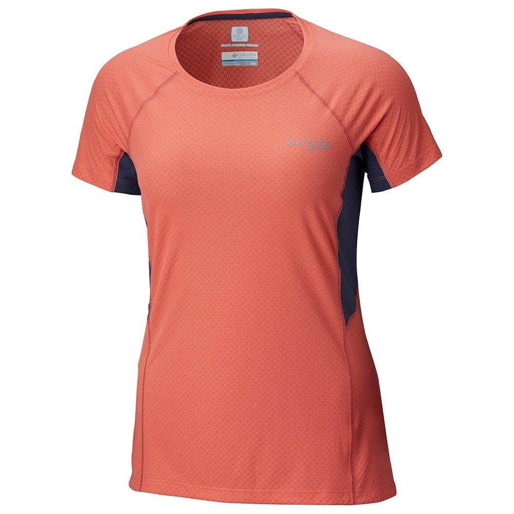 Montrail by Columbia Titan Ultra Short Sleeve Running Shirt (Women's) - Melonade