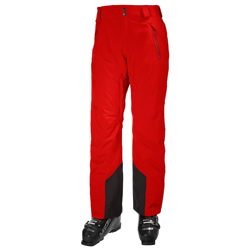 Helly Hansen Force Ski Pant (Men's) - Alert Red