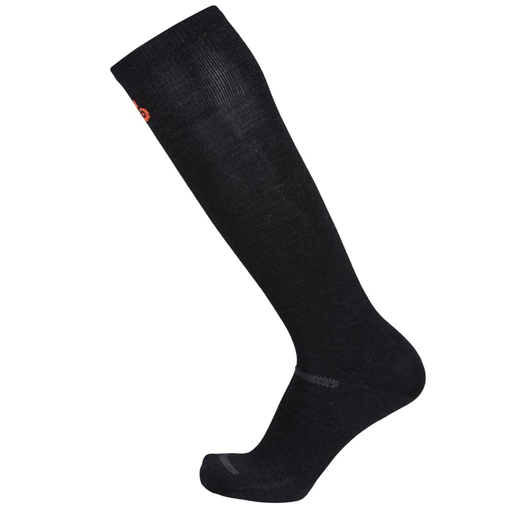 Point 6 37.5 Ski Ultralight Sock - Black