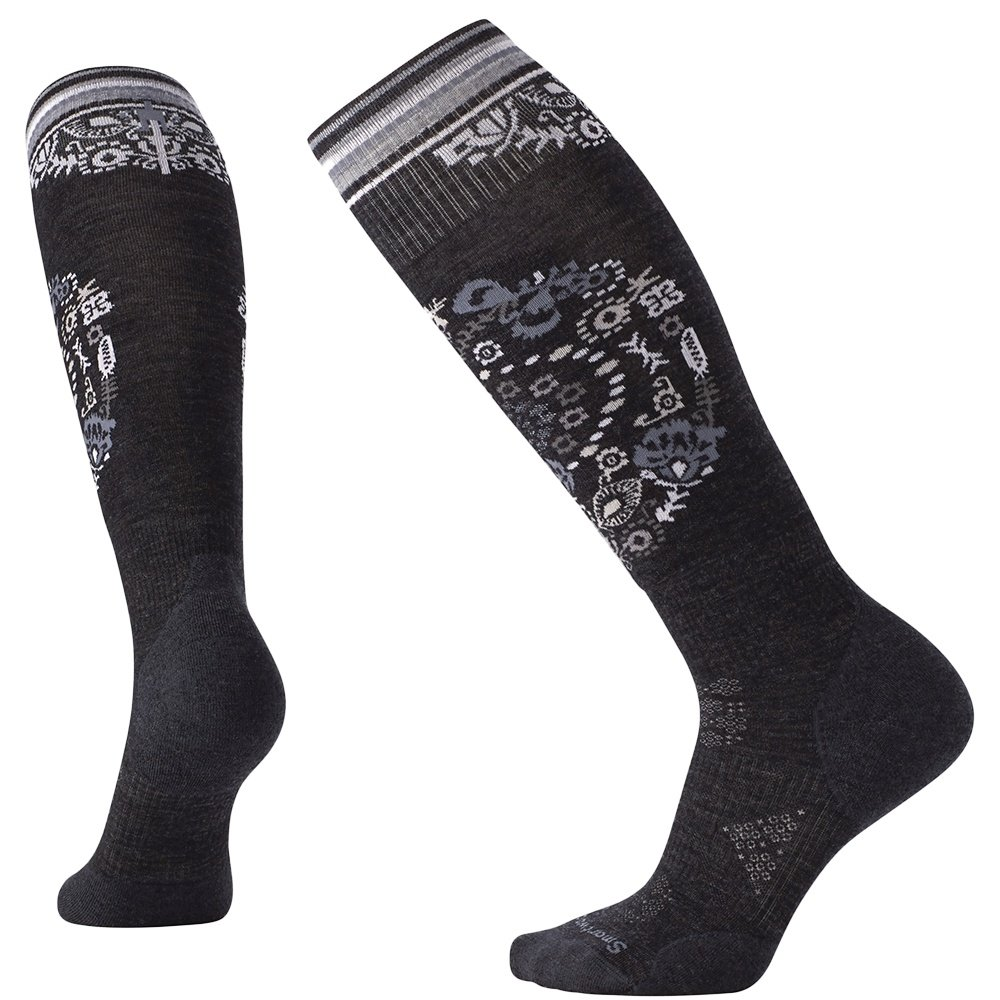 SmartWool PHD Ski Light Elite Ski Sock (Women's) - Charcoal