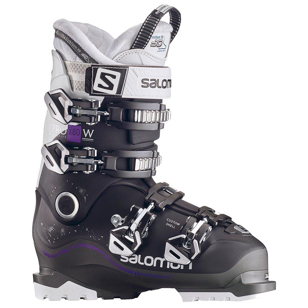 Salomon X Pro X80 Ski Boot (Women's) - Black/Anthracite/White