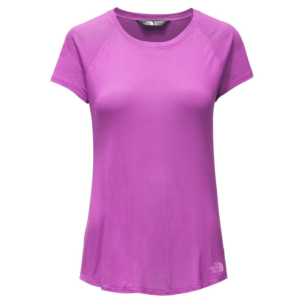 The North Face Versitas Short Sleeve Shirt (Women's) - Sweet Violet