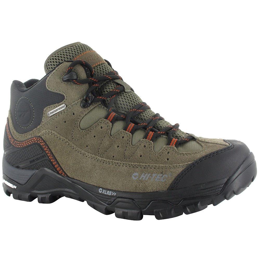 Hi-Tec Ox Belmont Mid Waterproof Hiking Boot (Men's) - Dark Taupe/Warm Grey/Red Rock