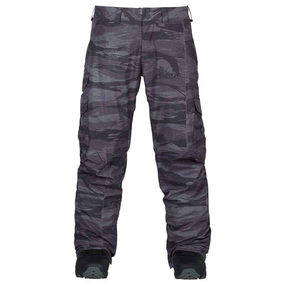 Burton Cargo Mid Fit Insulated Snowboard Pant (Men's) - Faded Worn Tiger