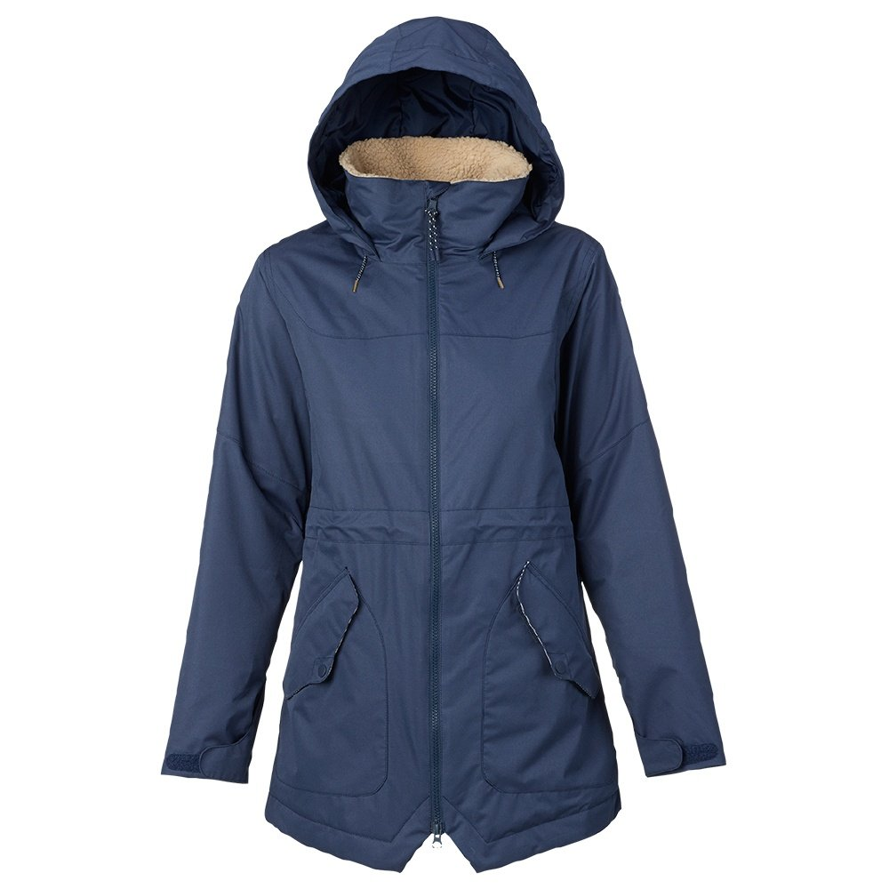 Burton Prowess Insulated Snowboard Jacket (Women's) - Mood Indigo