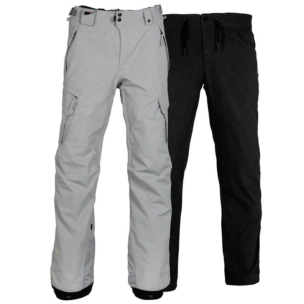 686 Smarty 3-in-1 Cargo Snowboard Pant (Men's) - Light Grey