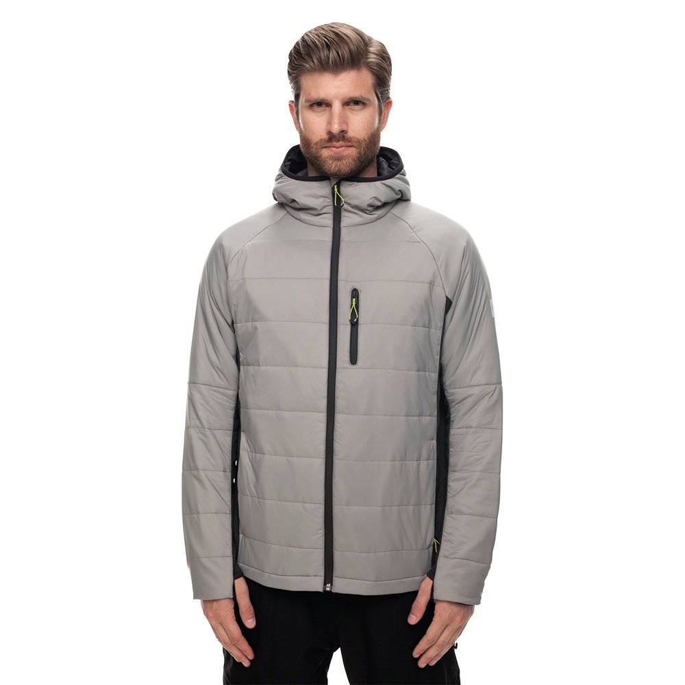 686 Apollo PrimaLoft Insulated Snowboard Jacket (Men's) - Lt Grey Cire