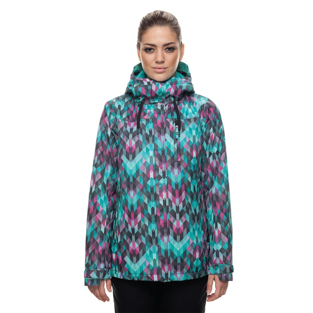 686 Eden Insulated Snowboard Jacket (Women's) - Kaleidoscope Print