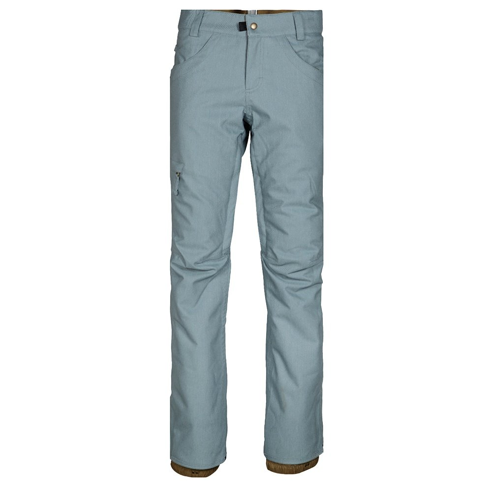 686 Patron Insulated Snowboard Pant (Women's) - Lt Blue Denim