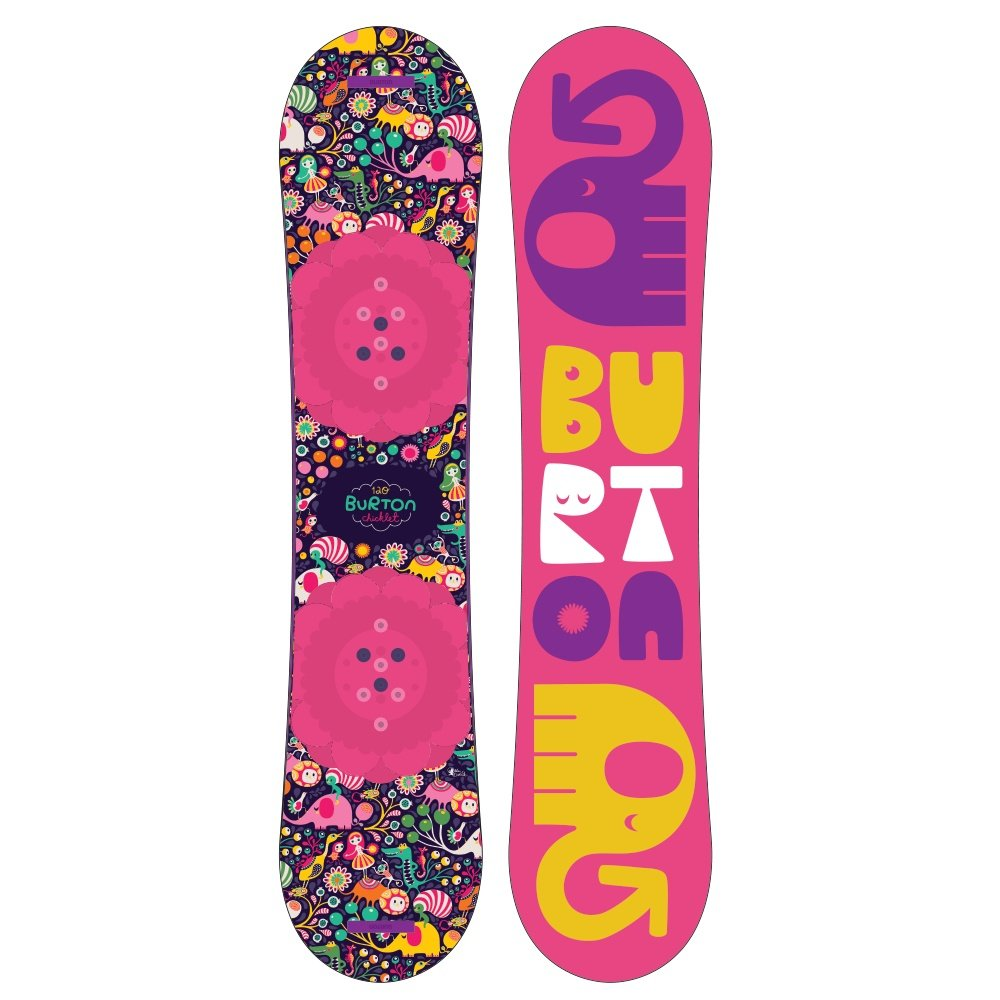 Burton Chicklet Snowboard (Little Kids')  - 120