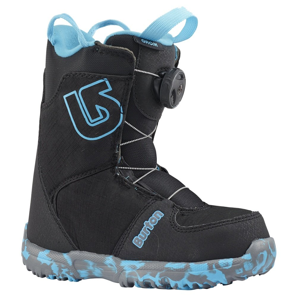 Burton Grom Boa Snowboard Boots (Little Kids') - Black