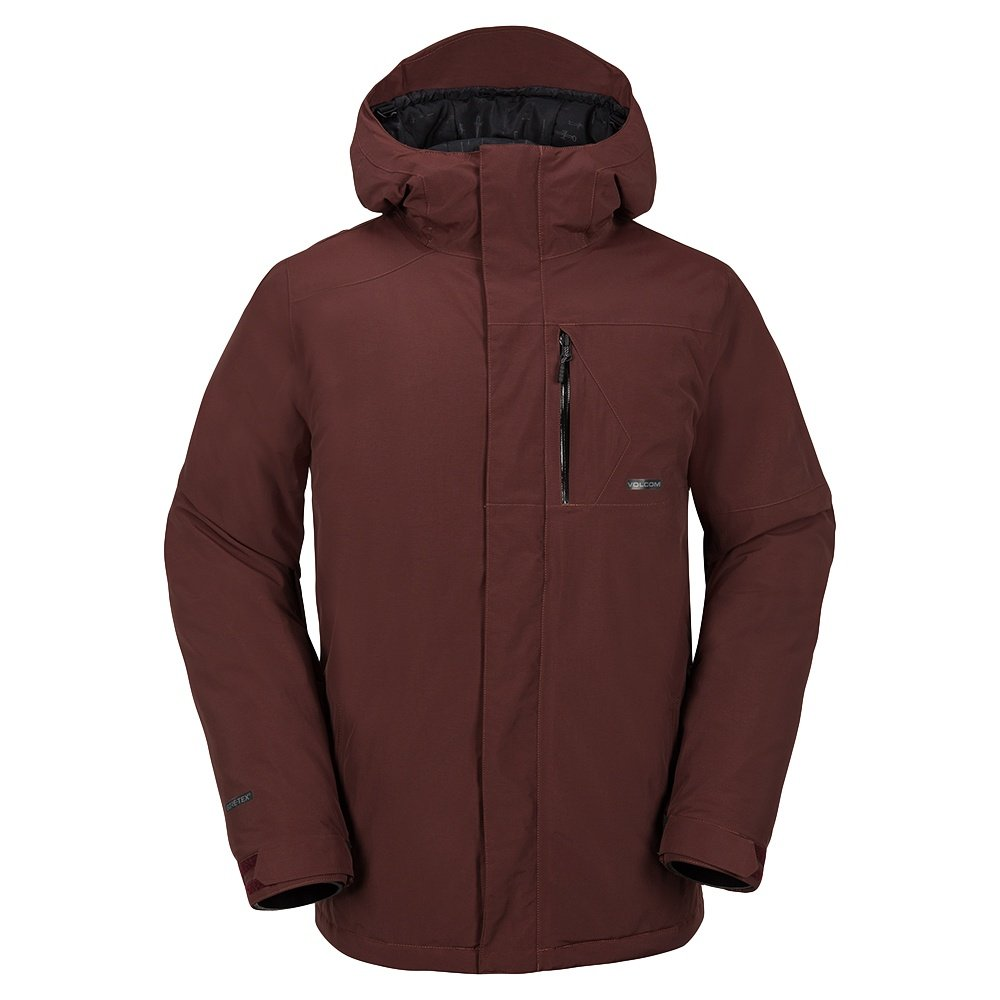 volcom gore tex insulated snowboard jacket men 39 s peter glenn. Black Bedroom Furniture Sets. Home Design Ideas