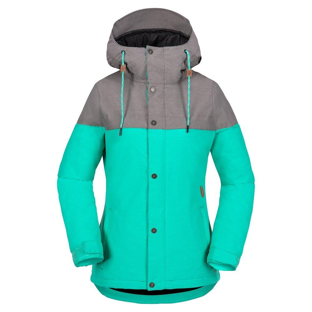 Volcom Bolt Insulation Snowboard Jacket (Women's) - Teal Green