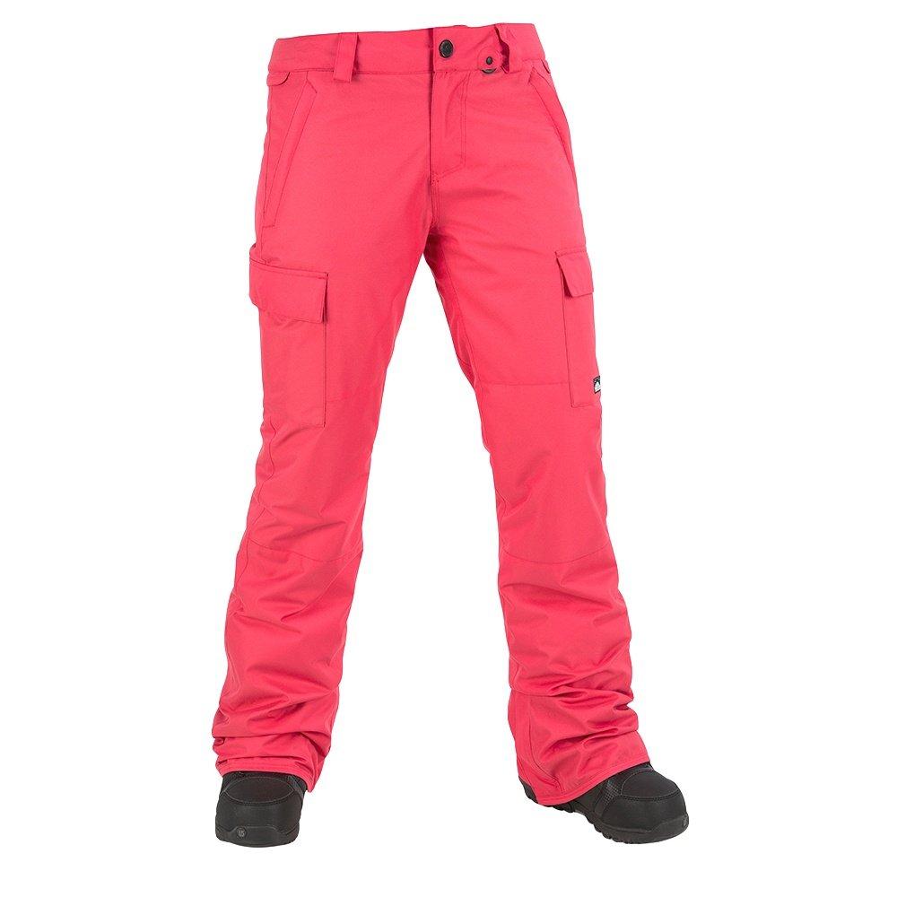 Volcom Cascade Insulated Snowboard Pant (Women's) - Bright Rose