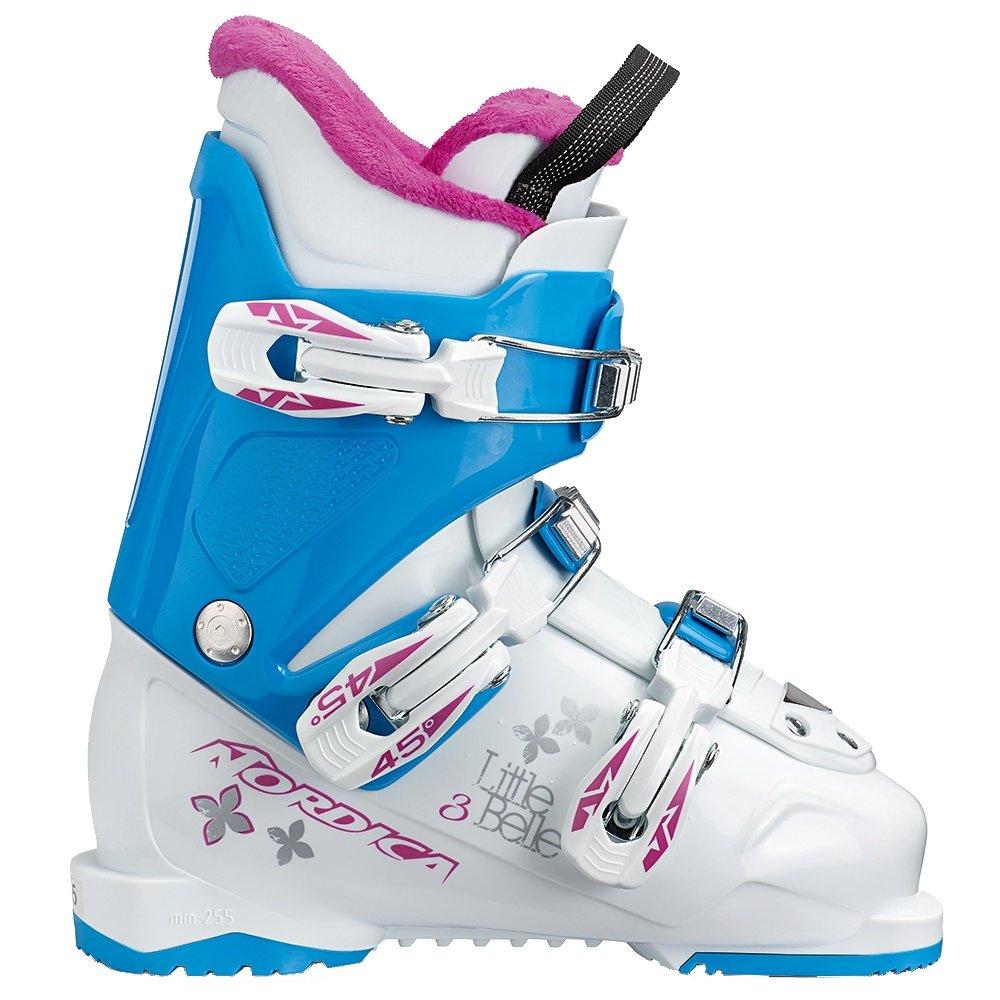 Nordica Little Belle 3 Ski Boot (Kids') - White/Light Blue
