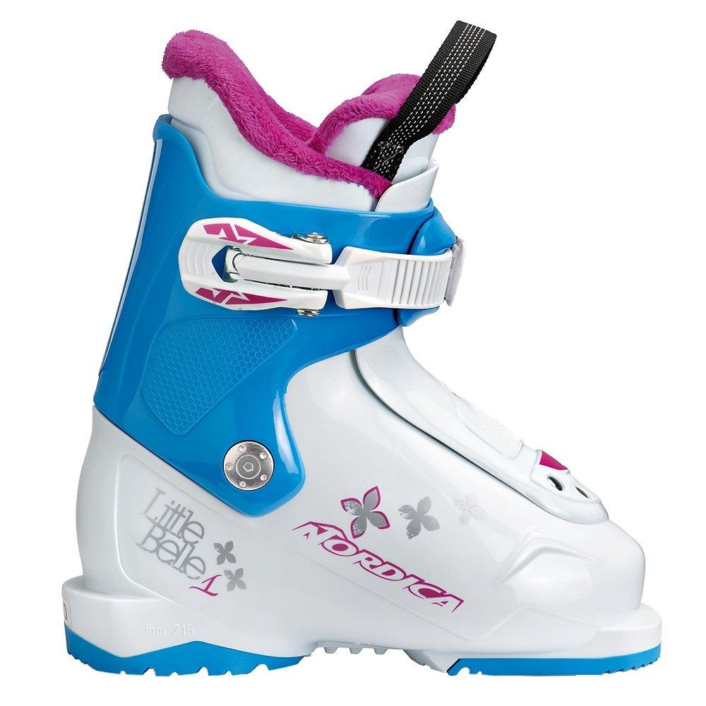 Nordica Little Belle 1 Ski Boot (Kids') - White/Light Blue