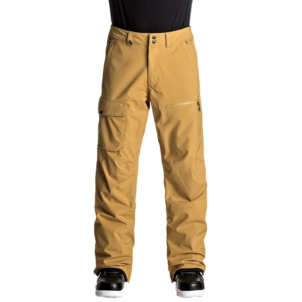 The Good Ride Snowboard >> Quiksilver Utility Stretch Insulated Snowboard Pant (Men's) | Peter Glenn