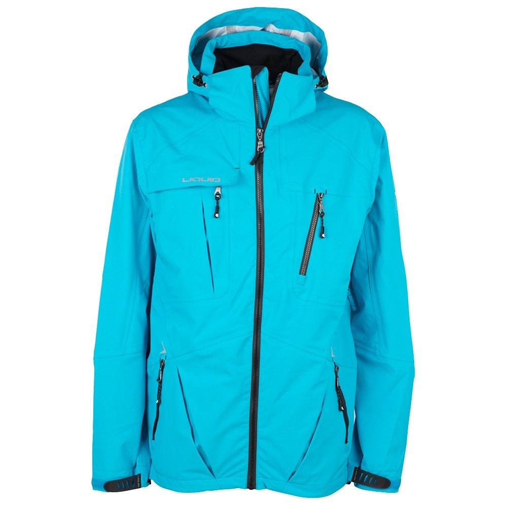 Liquid Thriller Shell Snowboard Jacket (Men's) - Azure