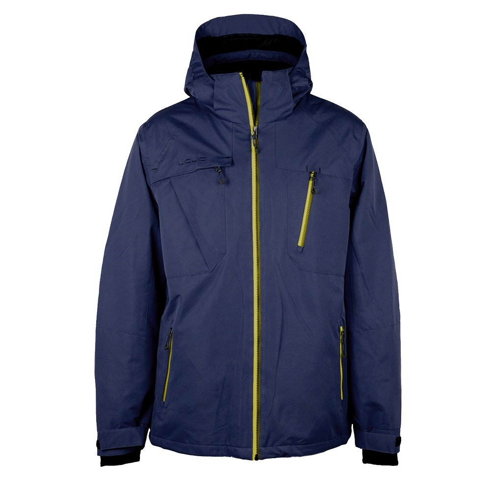 Liquid Force Insulated Snowboard Jacket (Men's) - Navy