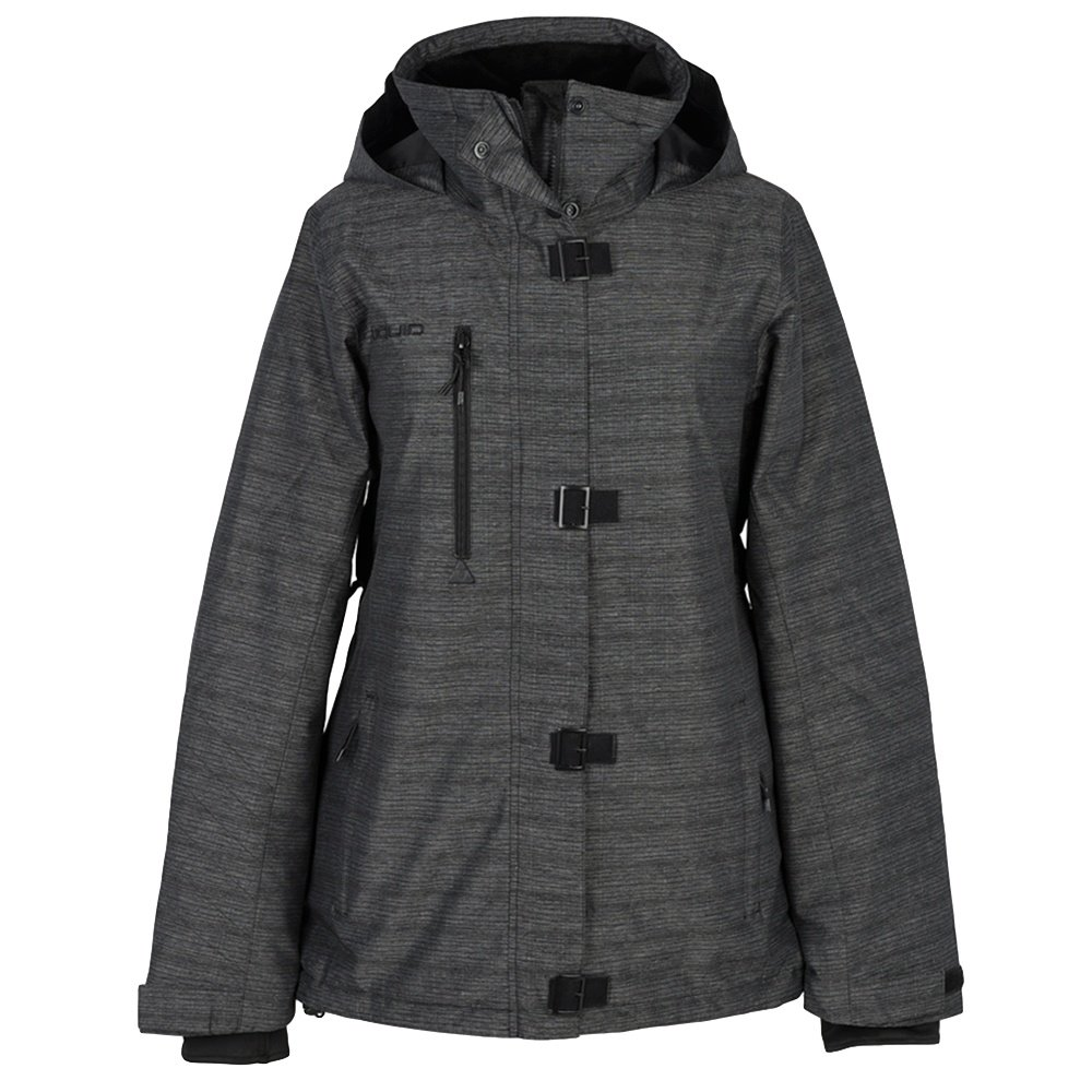 Liquid Precious Insulated Snowboard Jacket (Women's) - Grey