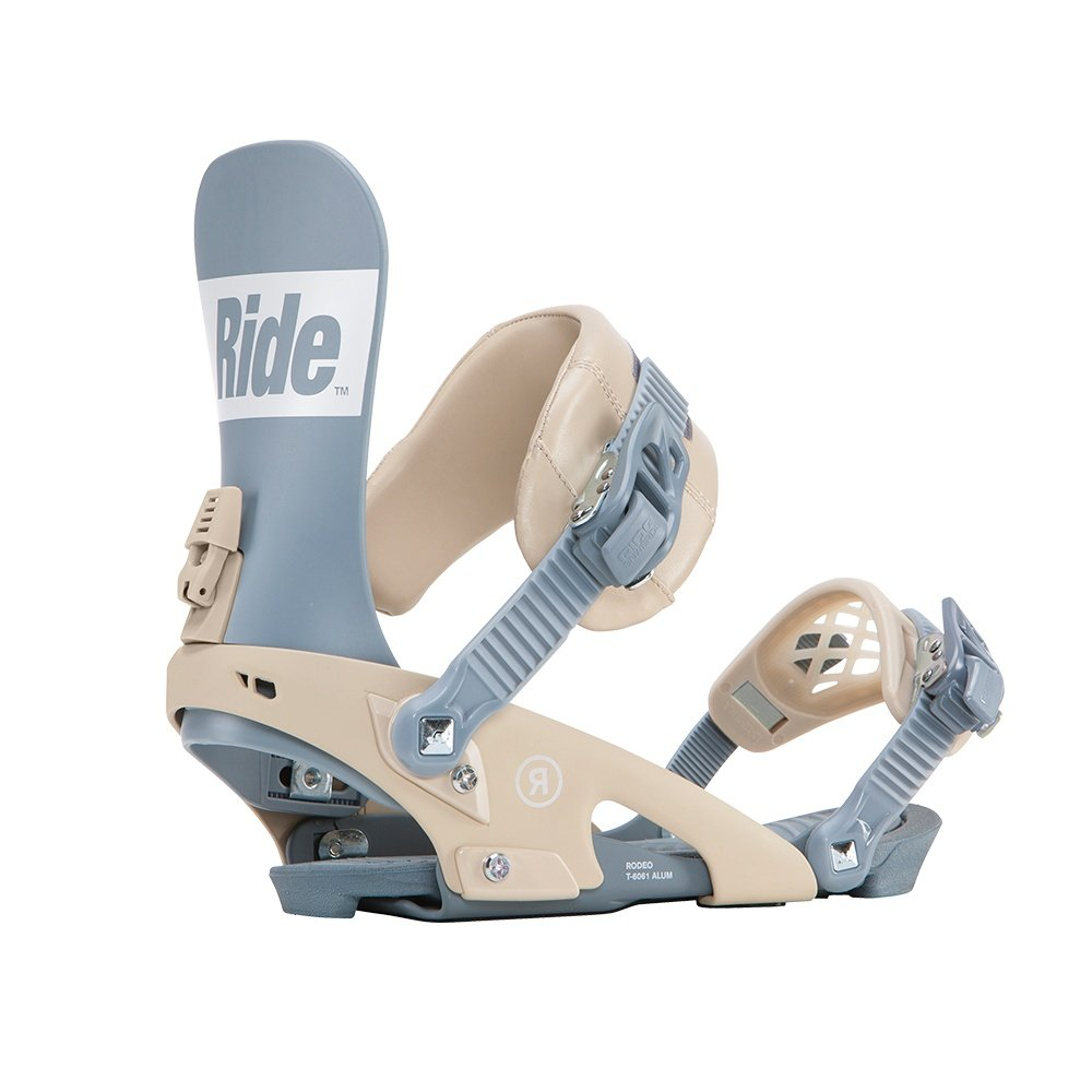 RIDE Rodeo Snowboard Binding (Men's) - Steel Blue
