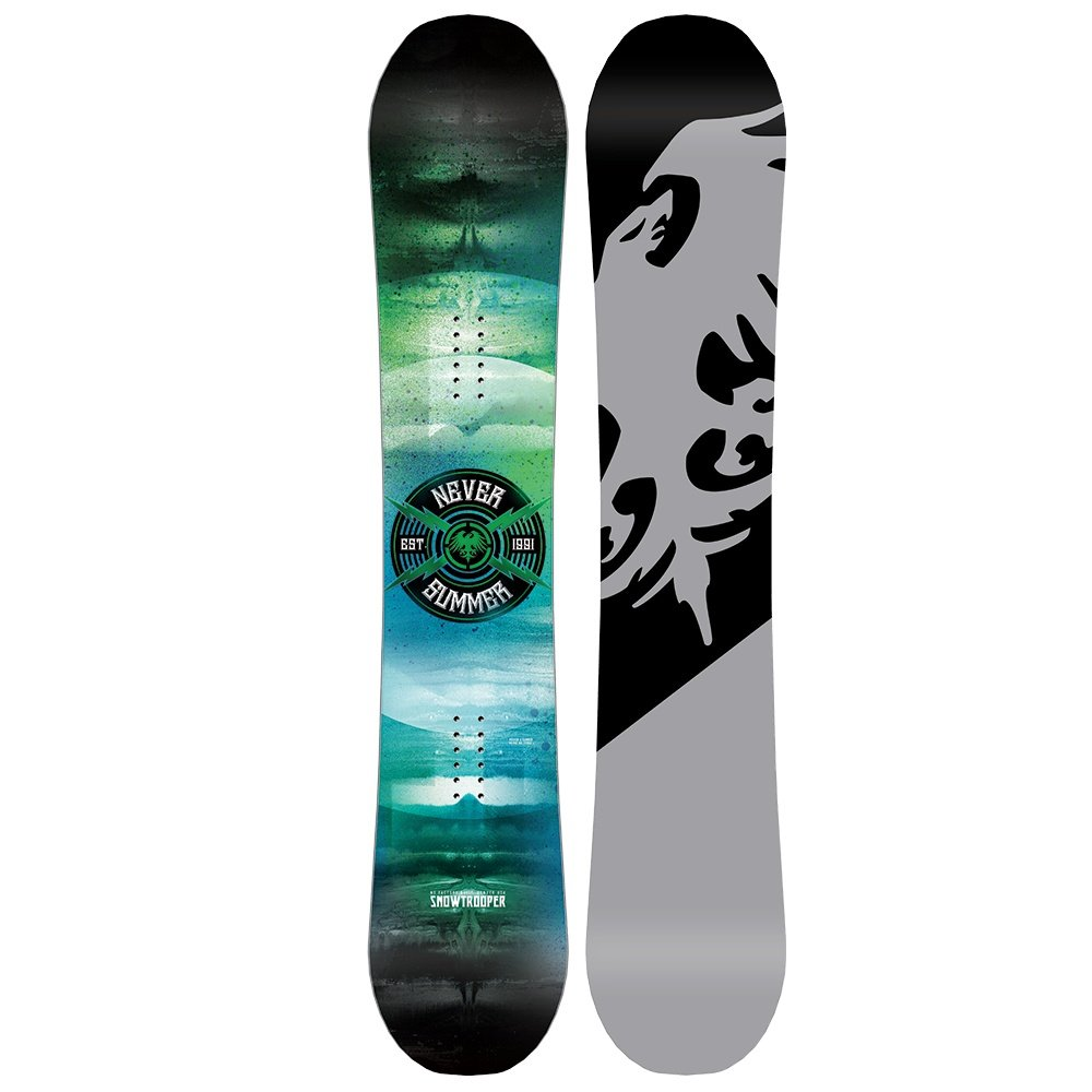 Never Summer Snowtrooper X Wide Snowboard (Men's) - 157
