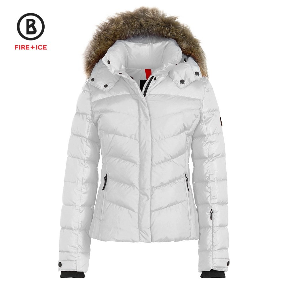 Bogner Fire + Ice Sally3-D Ski Jacket with Real Fur (Women's) -