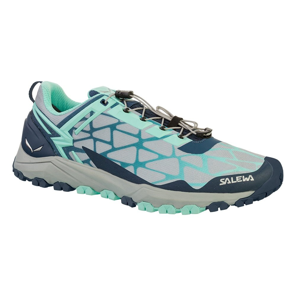 Salewa Multi Track Shoe (Women's) - Dark Bdenim/Aruba Blue
