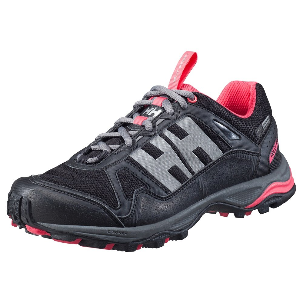 Helly Hansen Pace Trail 2 HT Shoe (Women's) - Black/Charcoal/Magenta