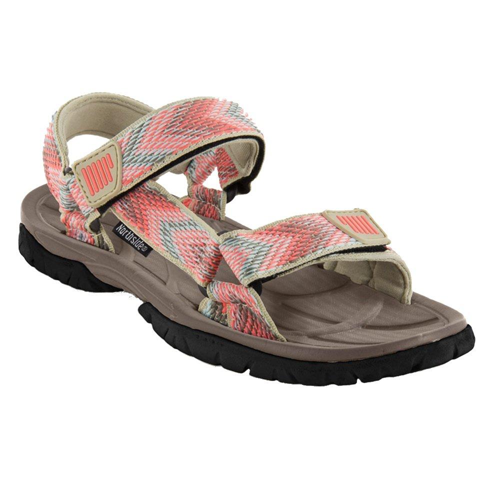 Northside Seaview Sport Sandal (Women's) - Tan/Coral