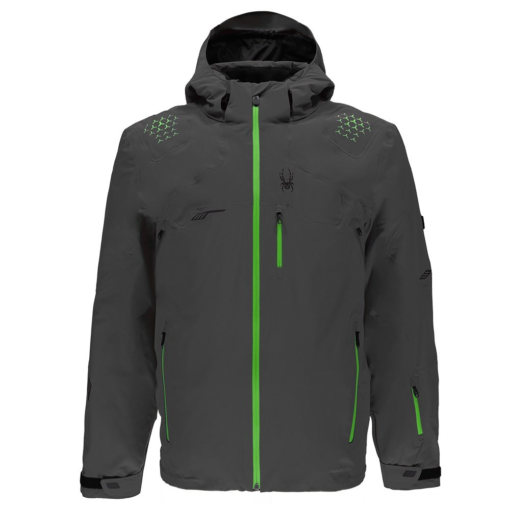 Spyder Monterosa Insulated Ski Jacket (Men's) - Polar/Fresh/Black