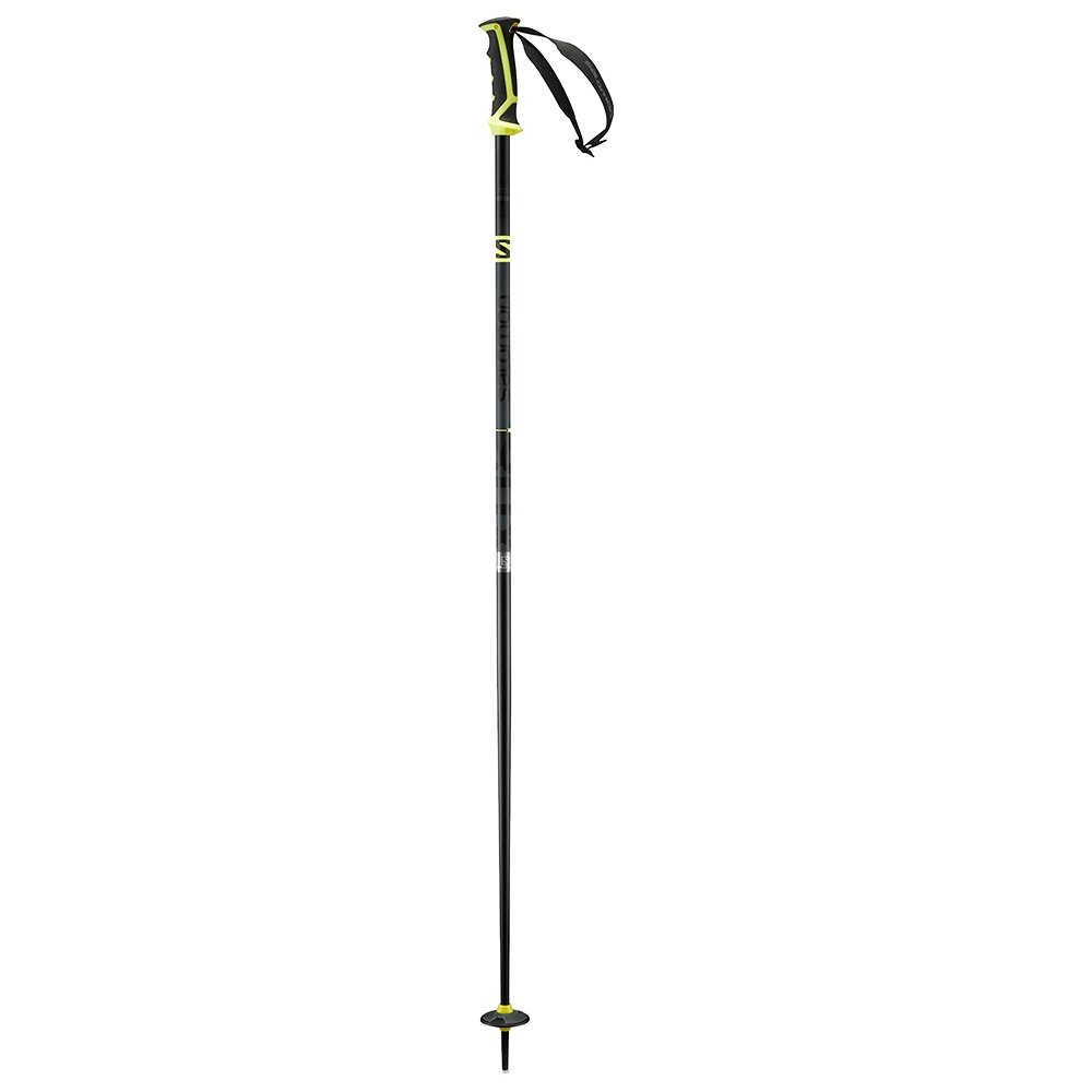 Salomon X 08 Ski Pole (Men's) - Grey/Yellow