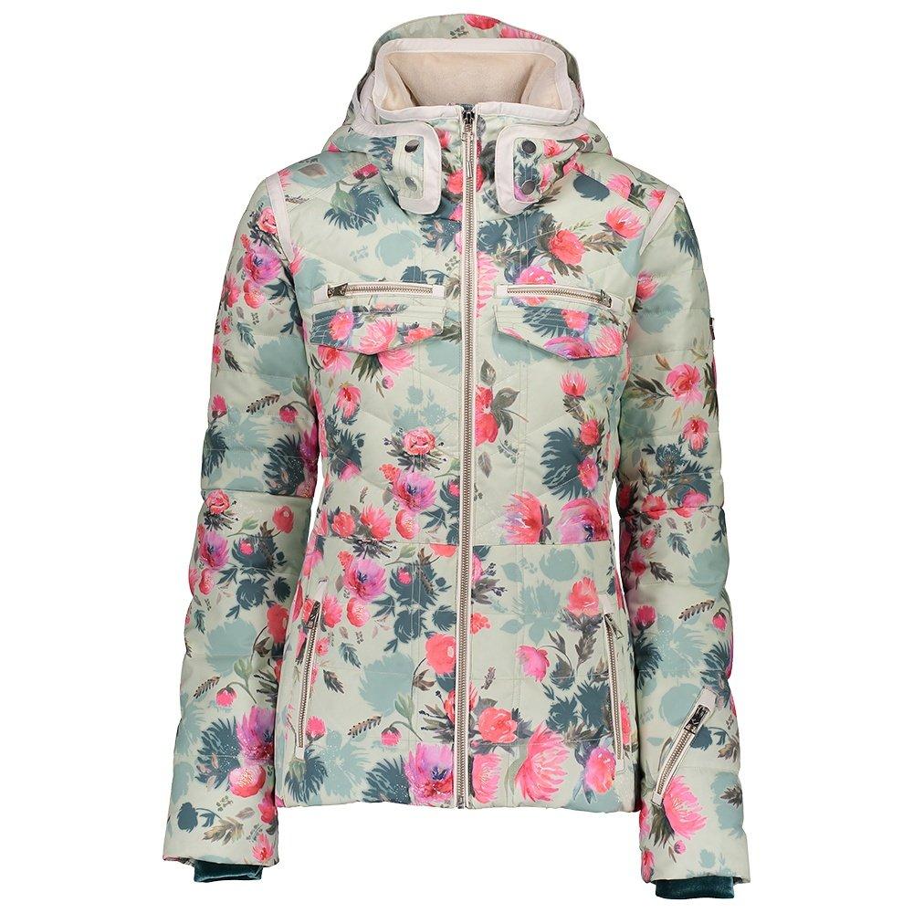 Obermeyer Devon Down Ski Jacket (Women's) - Botanic Glaze
