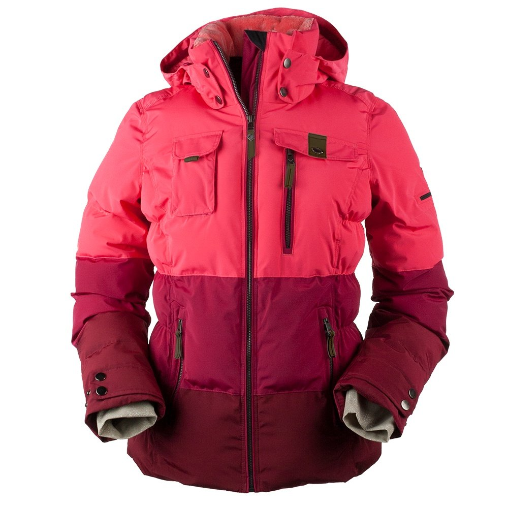 Obermeyer Leighton Insulated Ski Jacket (Women's) - Island Sunset
