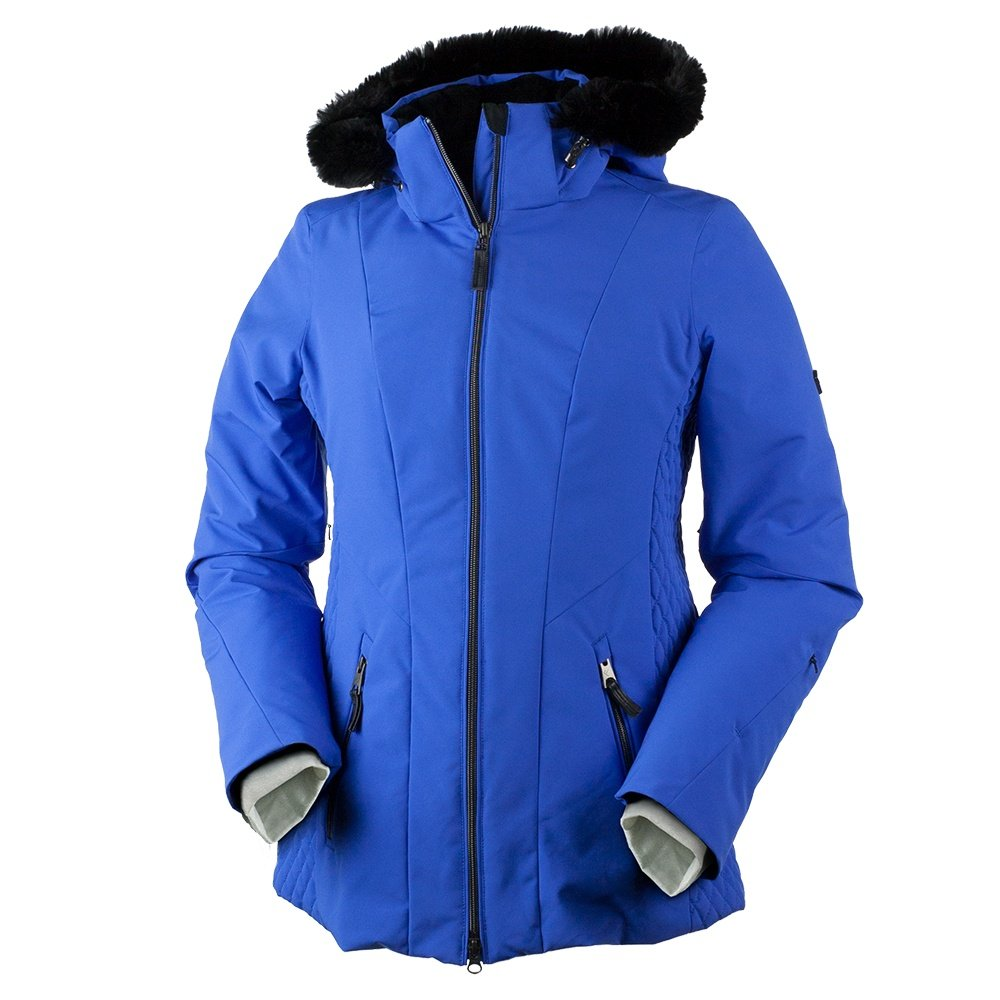 Obermeyer Siren Faux Fur Insulated Ski Jacket (Women's) - Alexandrite
