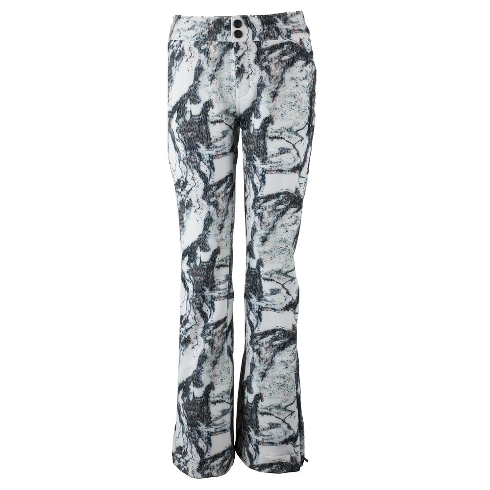 Obermeyer Printed Bond Softshell Ski Pant (Women's) - Mtn Mirage