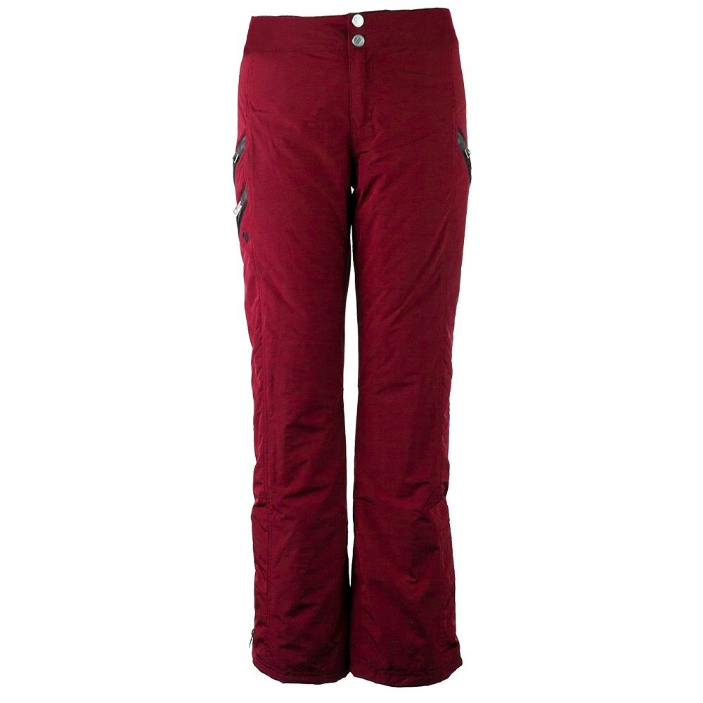 Obermeyer Harlow Insulated Ski Pant (Women's) - Red Tannin
