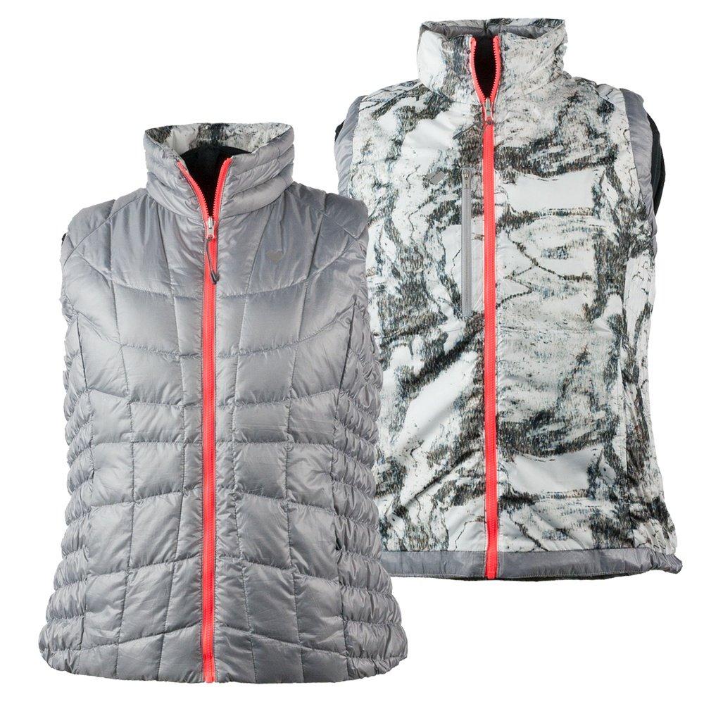 Obermeyer Soleil Reversible Down Vest (Women's) - Overcast