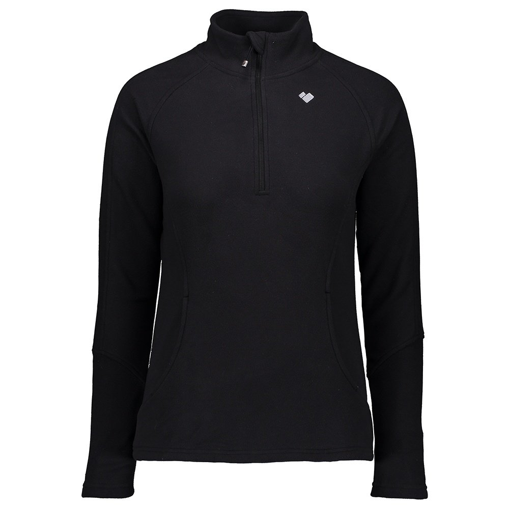 Obermeyer Siena Fleece Mid-Layer Top (Women's) - Black