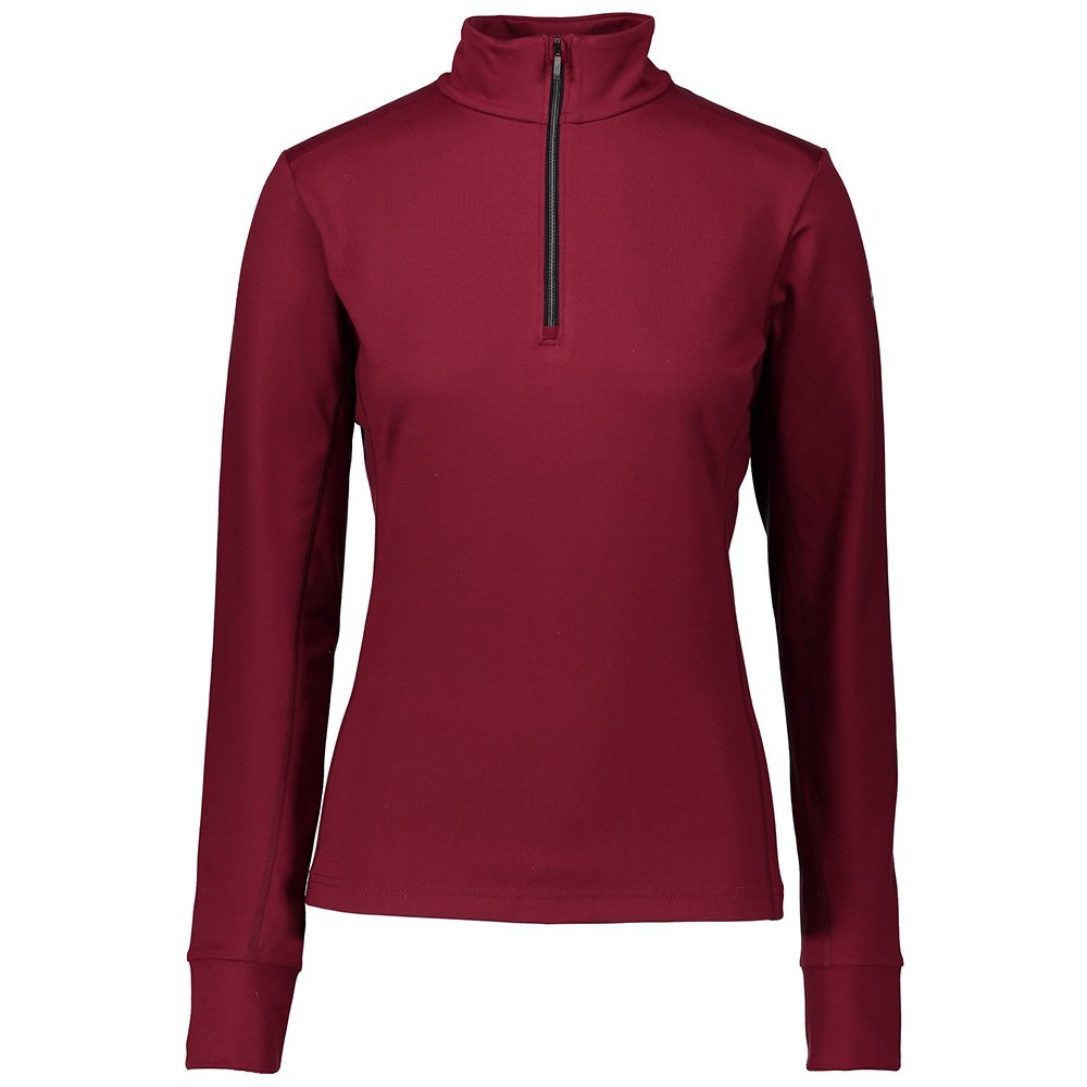 Obermeyer Nari 1/4-Zip Turtleneck Mid-Layer (Women's) - Major Red