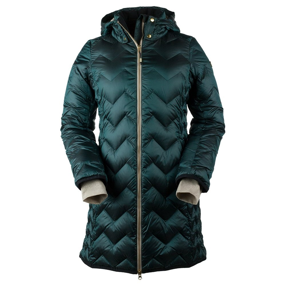 Obermeyer Devi Down Parka Coat (Women's) - Glamp Green