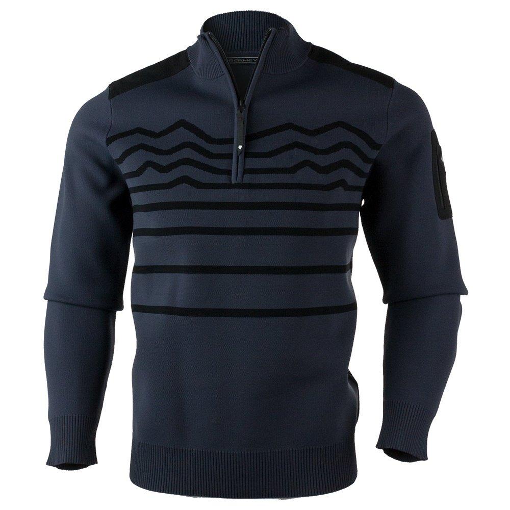 Obermeyer Tera Half-Zip Sweater (Men's) - Ebony