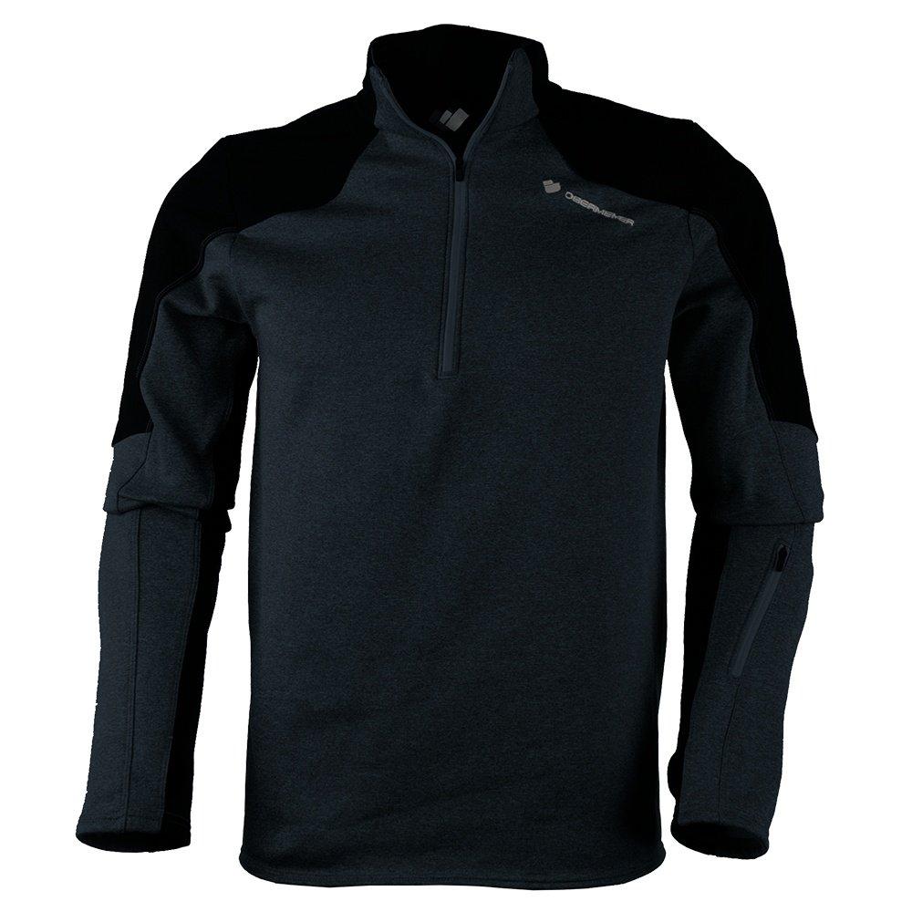 Obermeyer Semishell 1/4-Zip Fleece Mid-Layer (Men's) - Black