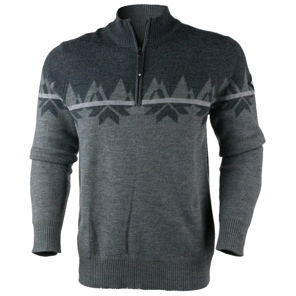 Obermeyer Ruedi 1/2-Zip Sweater (Men's) - Dark Heather Grey
