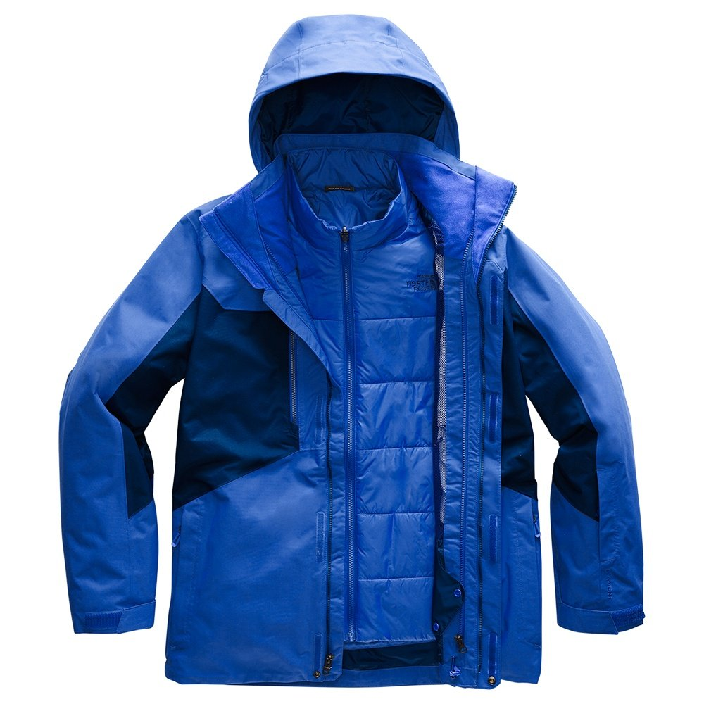 The North Face Clement Triclimate Ski Jacket (Men's) - TNF Blue/Flag Blue
