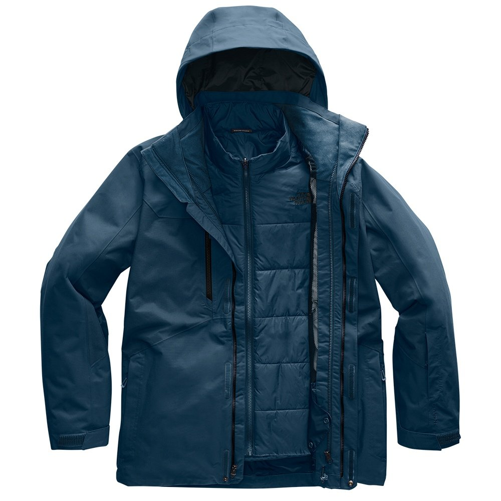 The North Face Clement Triclimate Ski Jacket (Men's) - Blue Wing Teal