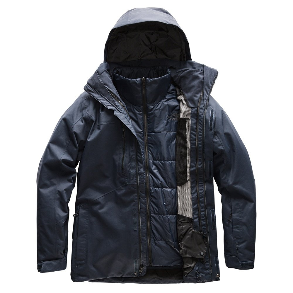 The North Face Clement Triclimate Ski Jacket (Men's) - Urban Navy